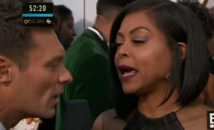 Taraji P. Henson DESTROYS Ryan Seacrest on Red Carpet