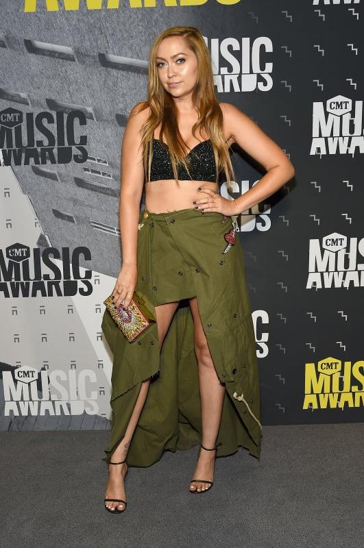 Brandi Cyrus at the CMTs