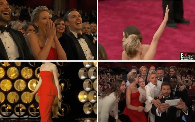 Jennifer lawrence laughs