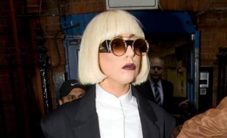 What's Lady Gaga's best look? Pantsuit or Pants-free?