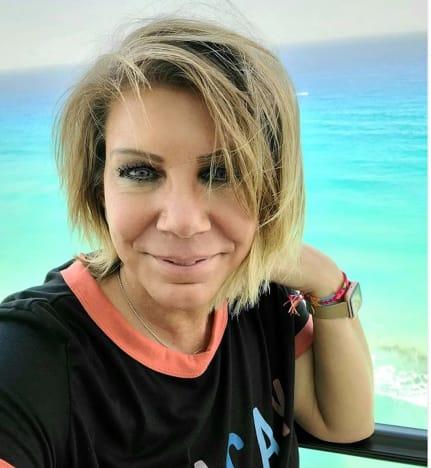 Meri Brown in Cancun