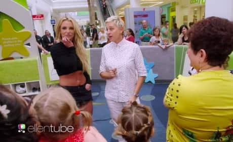 Britney and Ellen