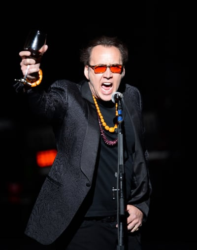 Nicolas Cage Introduces Guns N' Roses at The Joint inside the Hard Rock Hotel & Casino