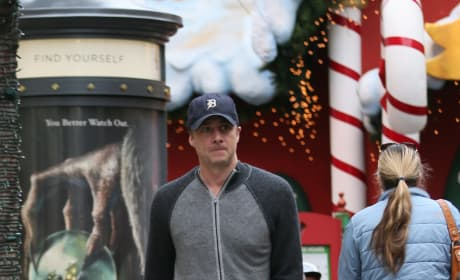 Zach Braff at The Grove