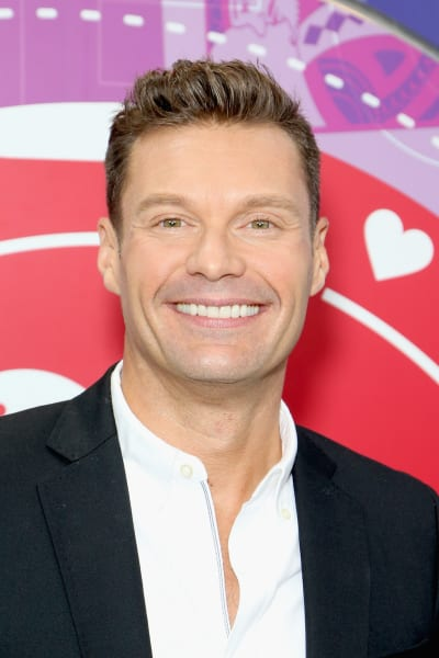 Ryan Seacrest is Smiling