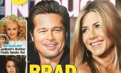 Brad Pitt: Caught with Jennifer Aniston!!!!!