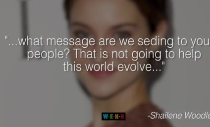 Shailene Woodley Throws Shade at The Twilight Saga: What a Terrible Message!