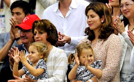 Roger Federer Daughters