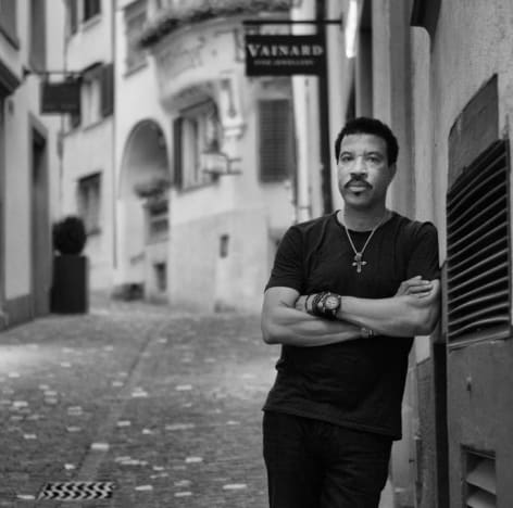 Lionel Richie In Switzerland