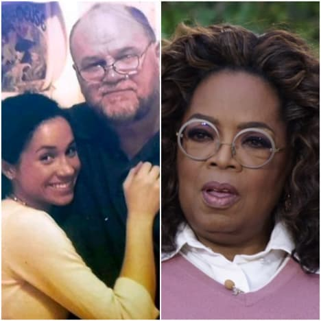 Markles and Oprah