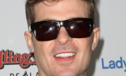 Robin Thicke: Arrested For Marijuana Possession