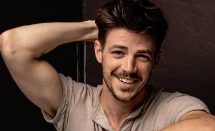 Grant Gustin Hits Back at Body Shamers After The Flash Costume Pic Leaks!
