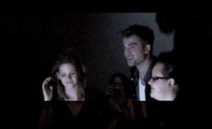 Robert Pattinson and Kristen Stewart Surprise Eclipse Fans, Do Dinner