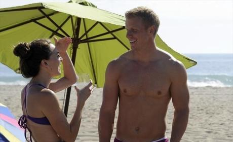 Sean Lowe With No Shirt
