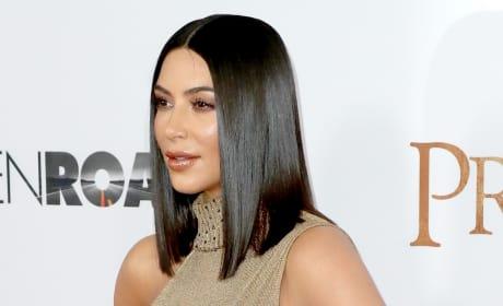 Kim Kardashian Looks Sleek