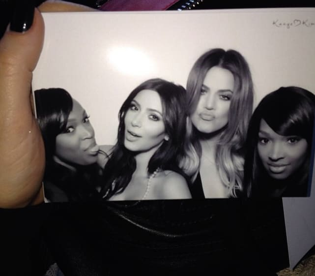 Kim, Khloe and Friends