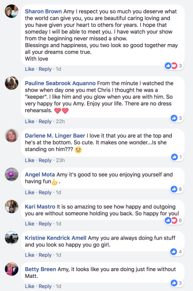 amy comments