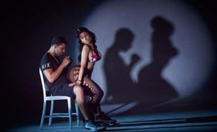 "Nicki Minaj Teases ""Anaconda"" Music Video, Gives Drake a Lap Dance"