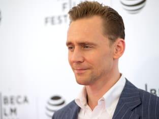 Tom Hiddleston Looks Serious