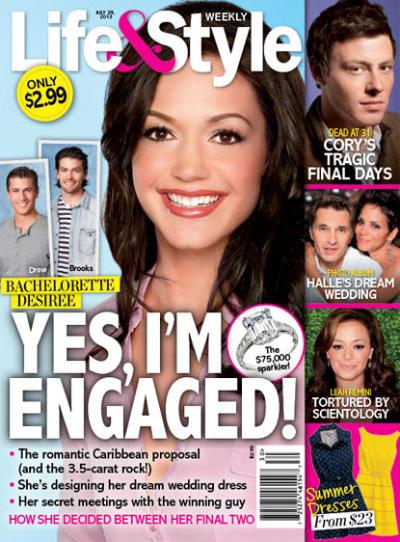 Desiree Hartsock Engaged!
