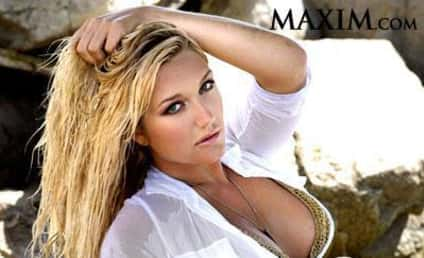 Brooke Hogan Poses in Maxim
