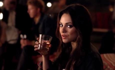 Mila Kunis Jim Beam Commercial