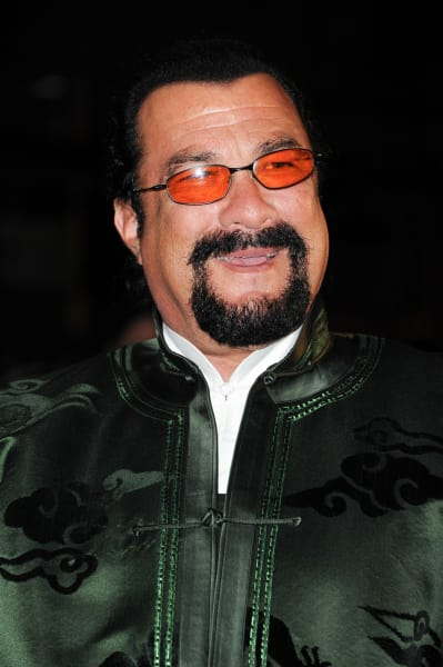 Steven Seagal Smiles