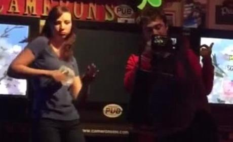 Daniel Radcliffe, Girlfriend Sing Karaoke to Eminem