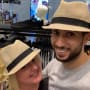 Laura and aladin try on hats