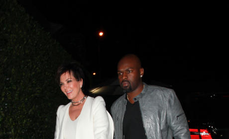 Kris Jenner and Corey Gamble: Date Night at Cecconi's