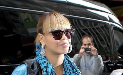 Kim Kardashian Lets Loose at Beyonce Concert