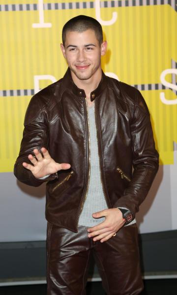Nick Jonas at the VMAs