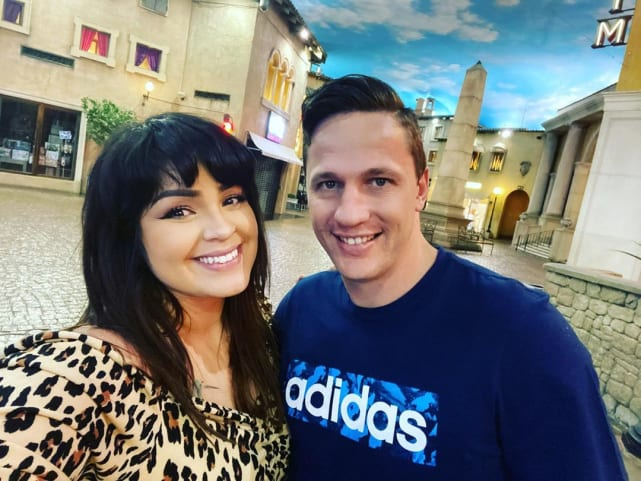 Tiffany franco and ronald smith together in south africa