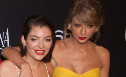 Taylor Swift Peer Pressures Lorde to Drink Alcohol?!