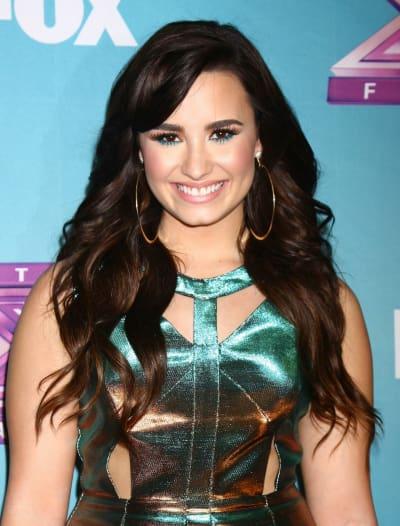 Demi Lovato on Red Carpet
