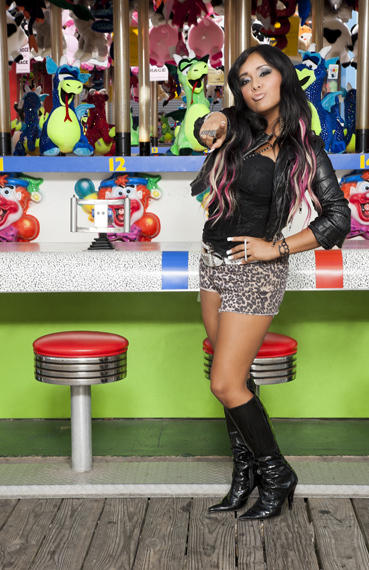 Snooki Puckers Up
