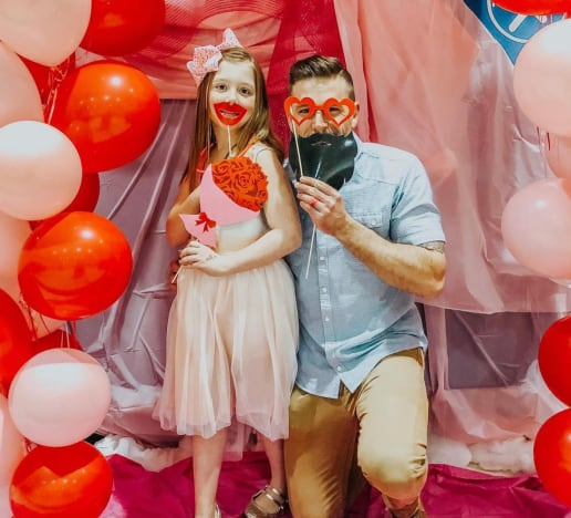 Cole and Aubree at the Dance