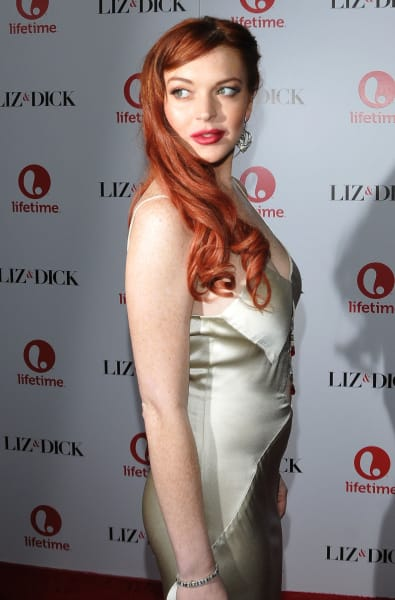 Lindsay Lohan Premiere Picture