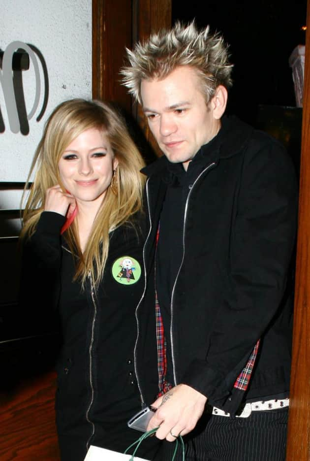 Deryck Whibley, Avril Lavigne Photo