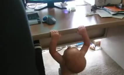Baby Does Pull-Ups, is Stronger Than You