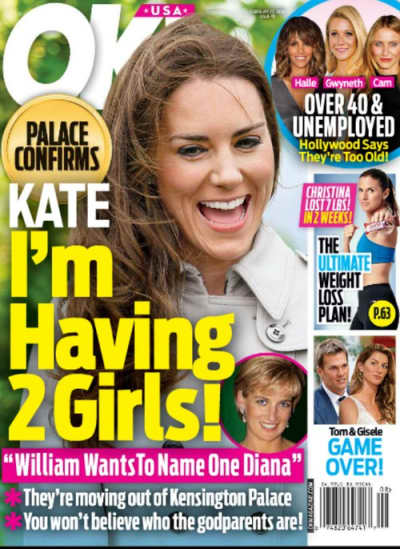 Kate Middleton Is Pregnant With Twins, According to OK!