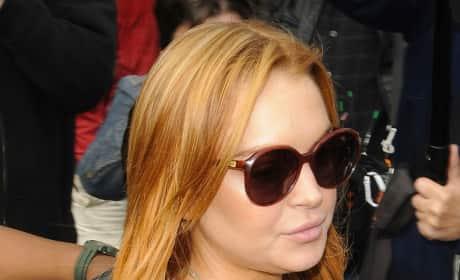 Lindsey Lohan Court Pic