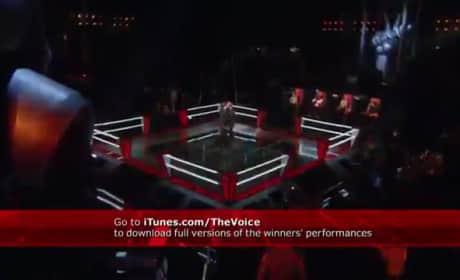 """Tony Vincent vs. Justin Hopkins - """"Faithfully"""" (The Voice)"""