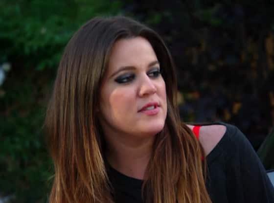 Khloe Kardashian Face