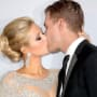 Chris Zylka Kisses Paris Hilton