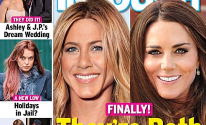 Jennifer Aniston Totally Pregnant Too, Tabloid Claims!