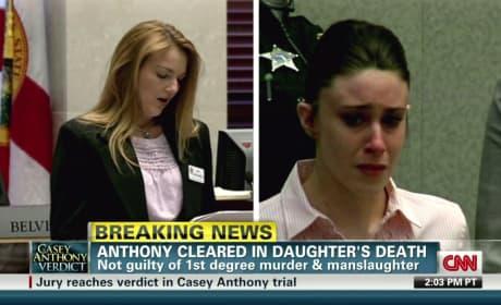 Casey Anthony Crying