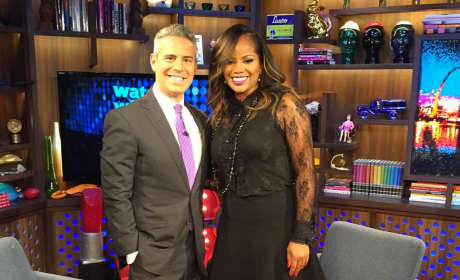 DeShawn Snow Andy Cohen Pic