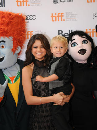 Selena Gomez and Jaxon Bieber