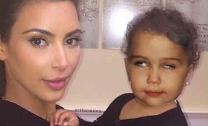 Kimye to Miley Cyrus: How Dare You Mock North West?!?